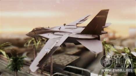 F-14A Tomcat IRIAF para GTA San Andreas left