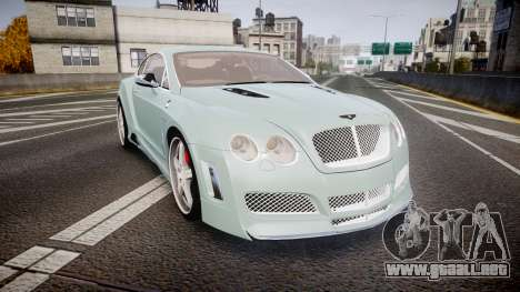 Bentley Continental GT Platinum Motorsports para GTA 4