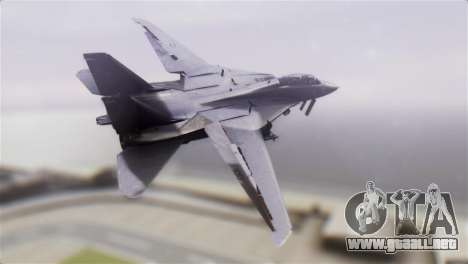 F-14A Tomcat VF-51 Screaming Eagles para GTA San Andreas left