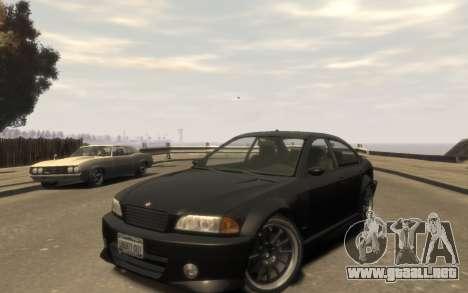 La supremacía de la Centinela (XS) de 4 puertas para GTA 4 left