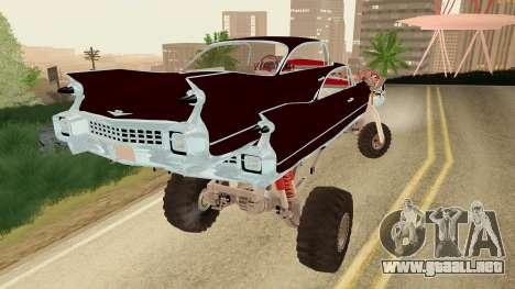 Gigahorse from Mad Max Fury Road para GTA San Andreas left
