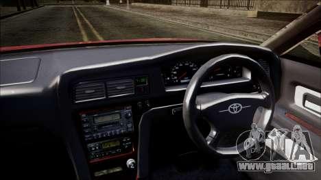 Toyota Chasher Tourer V para la visión correcta GTA San Andreas