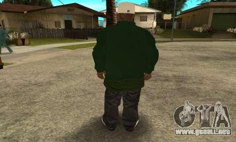 Groove St. Nigga Skin First para GTA San Andreas sucesivamente de pantalla