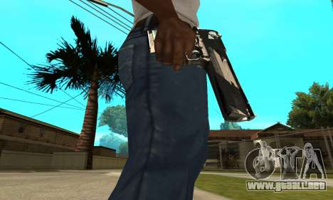 Two Lines Deagle para GTA San Andreas