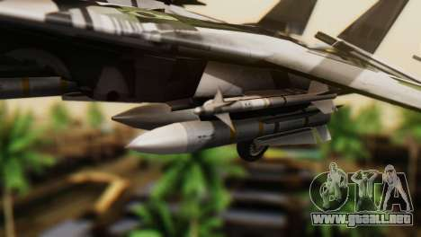 F-14D Super Tomcat VF-2 Bounty Hunters para la visión correcta GTA San Andreas