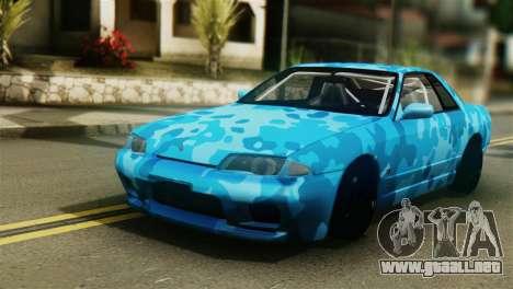 Nissan Skyline R32 Camo Drift para GTA San Andreas