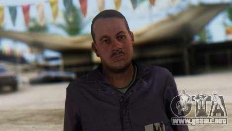 Uborshik Skin from GTA 5 para GTA San Andreas tercera pantalla
