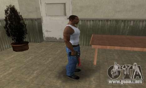 Red Tiger Deagle para GTA San Andreas tercera pantalla