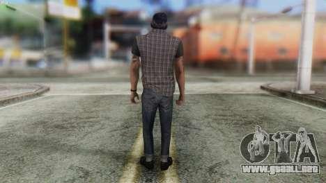 Biker Skin from GTA 5 para GTA San Andreas segunda pantalla