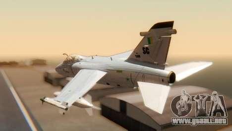 Embraer A-1 AMX FAB para GTA San Andreas left