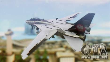 F-14D Super Tomcat Polish Navy para GTA San Andreas left