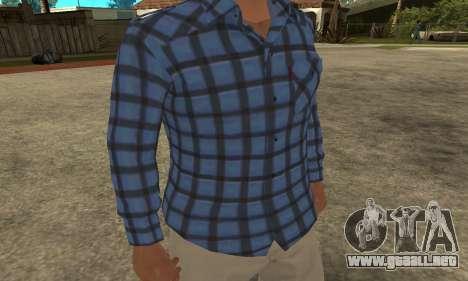 Skin Claude [HD] para GTA San Andreas segunda pantalla