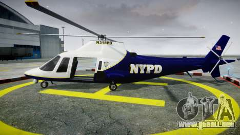 Buckingham Swift NYPD para GTA 4 left