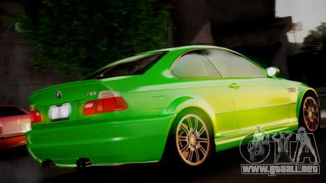 BMW M3 E46 v2 para GTA San Andreas left