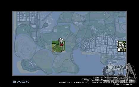 La reparación de los caminos para GTA San Andreas séptima pantalla