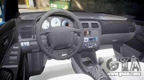 Mazda 626 para GTA 4 vista hacia atrás
