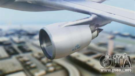 Airbus A330-200 KLM New Livery para la visión correcta GTA San Andreas