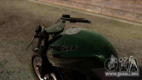 Bajaj Rouser 135 Stunt para la visión correcta GTA San Andreas