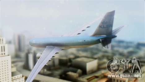 Airbus A330-200 KLM New Livery para GTA San Andreas left