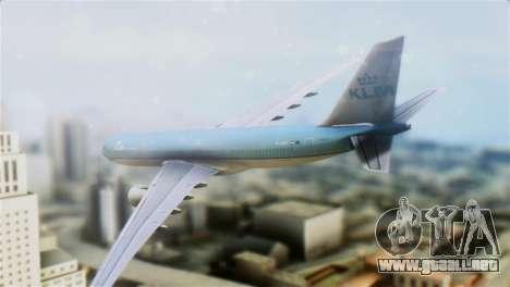 Airbus A330-200 KLM New Livery para GTA San Andreas left