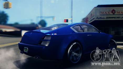 GTA 5 Enus Windsor IVF para GTA San Andreas left
