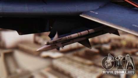 F-14A Tomcat Blue Angels para la visión correcta GTA San Andreas