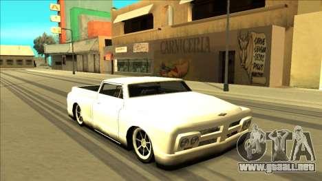 Slamvan Final para las ruedas de GTA San Andreas