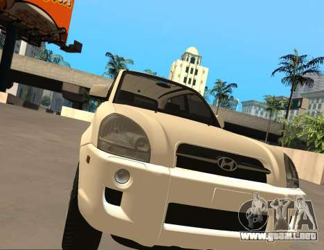 Hyundai Tucson para GTA San Andreas left