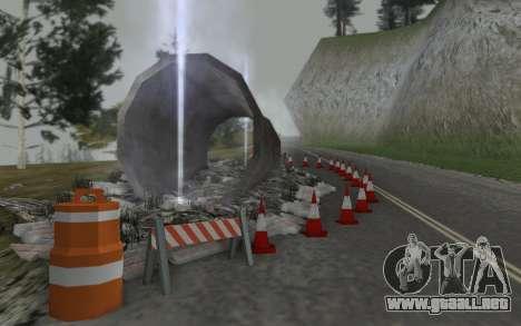 La reparación de los caminos para GTA San Andreas