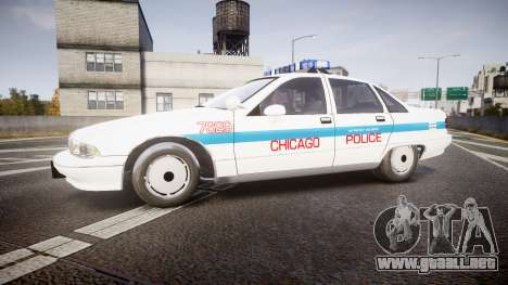 Chevrolet Caprice Chicago Police [ELS] para GTA 4 left