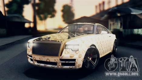 GTA 5 Enus Windsor IVF para visión interna GTA San Andreas