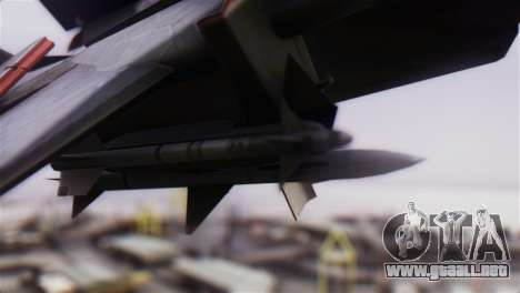 F-14A Tomcat VF-51 Screaming Eagles para la visión correcta GTA San Andreas