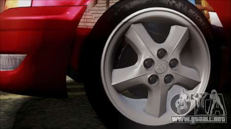 Toyota Chasher Tourer V para GTA San Andreas vista posterior izquierda