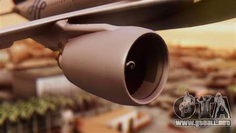 Airbus A330-200 Garuda Indonesia Sky Team para la visión correcta GTA San Andreas
