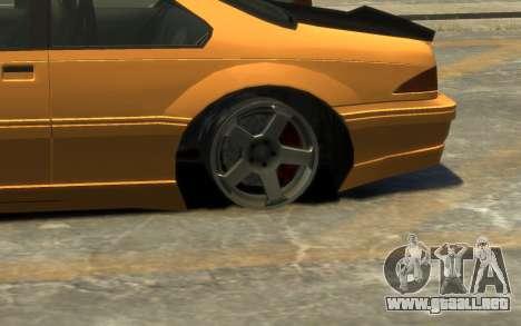 Vapid Fortune Drift para GTA 4 vista superior