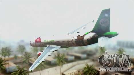 Airbus A320-200 AirAsia Line para GTA San Andreas left