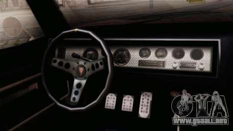GTA 5 Imponte Dukes IVF para la visión correcta GTA San Andreas