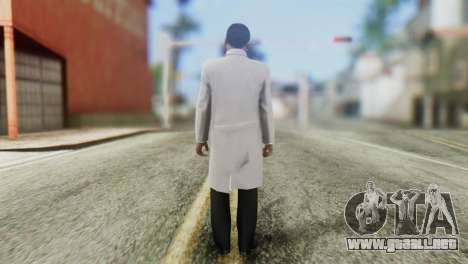 Vrash Skin from GTA 5 para GTA San Andreas segunda pantalla