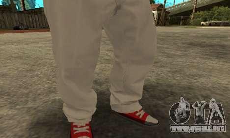 Skin Claude [HD] para GTA San Andreas tercera pantalla