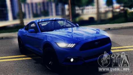 Ford Mustang GT 2015 para GTA San Andreas