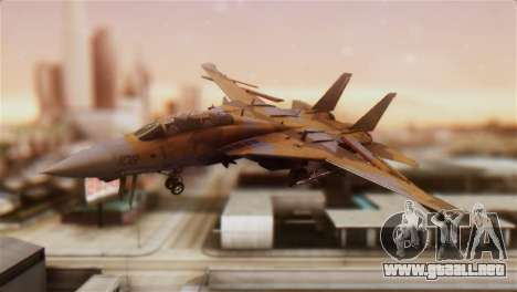 F-14A Tomcat NSAWC Brown para GTA San Andreas