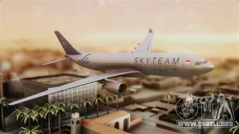 Airbus A330-200 Garuda Indonesia Sky Team para GTA San Andreas
