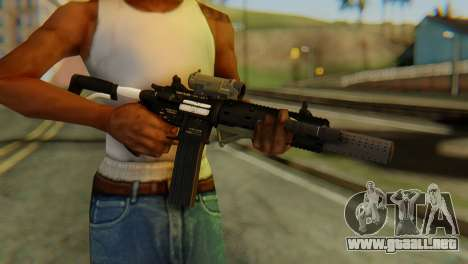 Carbine Rifle from GTA 5 v2 para GTA San Andreas tercera pantalla