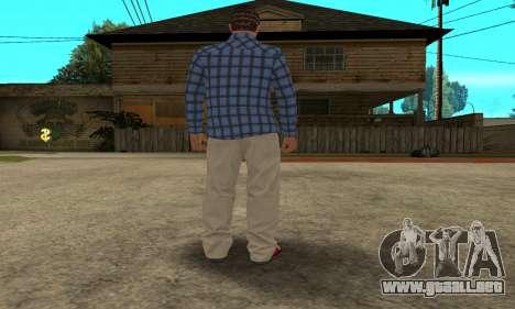 Skin Claude [HD] para GTA San Andreas sexta pantalla