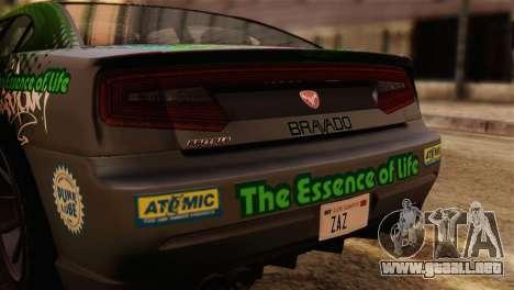 GTA 5 Bravado Buffalo Sprunk IVF para la visión correcta GTA San Andreas
