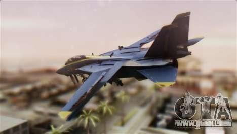 F-14A Tomcat Blue Angels para GTA San Andreas left