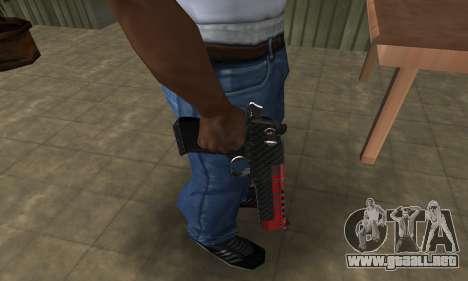 Red Tiger Deagle para GTA San Andreas segunda pantalla