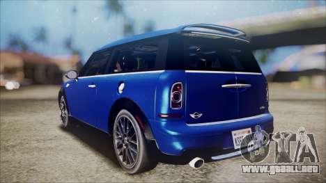 Mini Cooper Clubman 2011 Sket Dance para GTA San Andreas left