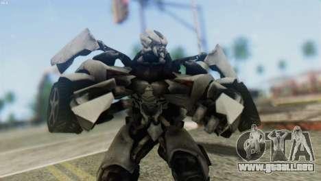 Sideswipe Skin from Transformers v2 para GTA San Andreas
