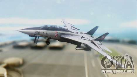 F-14D Super Tomcat Polish Navy para GTA San Andreas